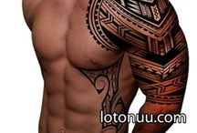 chest maori tattoo