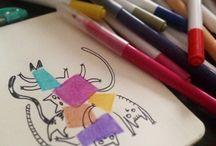 Drawings / Illustrations / Sketchbook