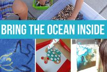 Seaside theme / Seaside ideas for classroom
