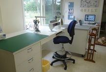Sewing Rooms / by LoveTo Sew