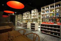 Tea shop / by Mihaela Cetanas Interior Design