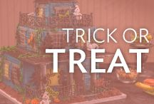 Trick or Treat / Super spooky sweets and creepy cute confections. Find cupcakes, cakes and other treats for your next Halloween party.