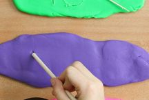 Play Dough Ideas for Kids / Inpirational ideas for your PlayMama App's Play Dough game for kids up to 4 year old.