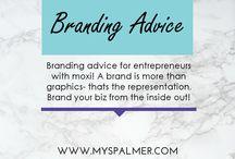 Branding Advice for Entrepreneurs / Branding advice for entrepreneurs with moxi! A brand is more than graphics, that's the representation. Brand your biz from the inside out!  #entrepreneur #branding #smallbusiness