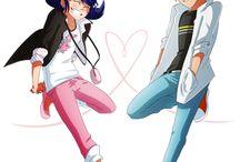 Mari and Adrien <3