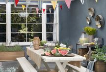 Outdoor entertaining & Decorating ideas