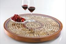 Cork Crafts / Ideas with wine corks.