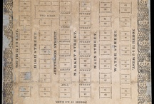 Maps of Charlottesville, VA / All images are sourced from the University of Virginia Library digital repository.  All items are housed in the Albert and Shirley Small Special Collections Library, University of Virginia.