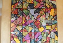 stained glass quilt s