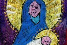 Mary Art Ideas