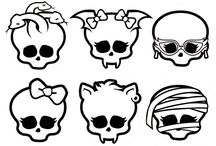 Monster High Skull Badge