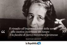 Hanna Arendt e la riflessione dopo l olocausto