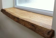 How to make a window sill / After renovation work or if you've moved into a new house, you might like to replace one or more of the window sills. Most houses have standard window sills, so it's not so difficult to fit new ones. There are a number of ways you can do this, such as window sills that simply fit over the old ones, but you can also cover the old window sills with tiles or natural stone. Check out this board for inspiration and instructions.  #Skilhelps