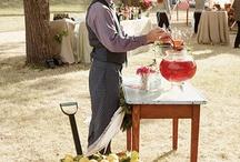 wedding drink table / by Tobi Britton