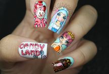 Character Nails and Pop Art