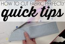 quick tips to cut  fabric