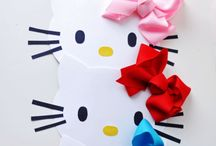 Hello Kitty DIY Party invitation