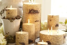 Candles / I use candles daily.. Love scented candles especially.. often find it hard to burn some of the prettier ones...  Think I would like to turn this into a hobby!!!  / by Janette Hamilton