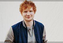 Ed Sheeran / O ruivo mais fofo do mundo. ♥