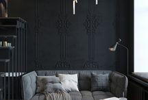 Deco interieure / Patchwork de plein d'idées déco et d'aménagement intérieur contemporain