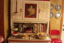 Hoosier Cabinets / by MaryKelly Hucko