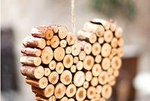 Deko aus Holz