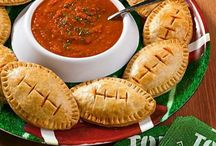 Super Bowl 2015 / Football calzones
