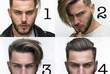 Мужские причёски
