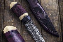 Knifes & swords / Japan swords, samurai's, knifes damascus