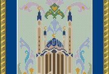 Мечеть вышивка