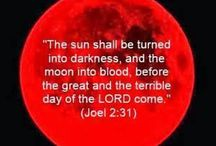 The moon turned to blood / Signs Of end times