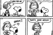 Snoopy and friends / Funny and lovable friendship between Charlie  Brown and Snoopy