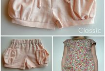 Shorts, Pants and Bloomer Patterns and Inspiration for Girls