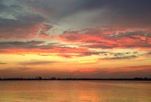 Louisiana Skies / Sunsets, moon, rainbows, clouds / by Kristie Ford