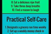 Self- love and ways to tickle myself...