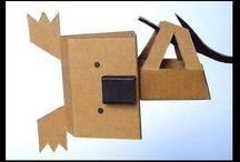 Animales de carton