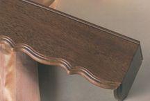 Ξύλινες Μετώπες / Wooden Pelmets / ΞΥΛΙΝΕΣ ΜΕΤΩΠΕΣ