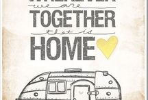 Campers and Caravan drawings