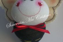 abejitas / Hermosas abejitas presentadas en caja   Souvenirs de nacimientos , baby shower