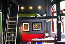 Loft/raised beds