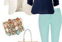 :: ligth blue pants outfit: :