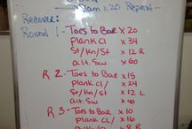 Workouts / by Brent Montella