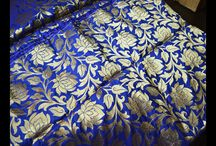 Beautiful blue fabric