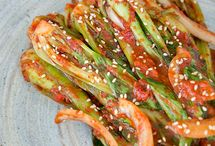Asian Vegetable Dishes / Dishes made with Asian vegetables and Asian flavors