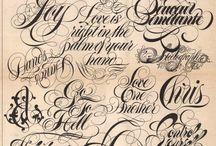 Belles Lettres / écriture