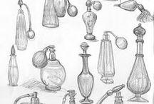 sketching bottle parfum / by marie petroni