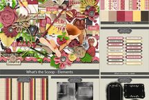 FAMILY THEMED SCRAPBOOK KITS / Digital Scrapbook Kits for Family Life