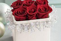rózsa dobozban