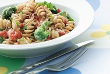 Whole Wheat Pasta / Some say whole wheat pasta doesn't have much taste, but it has some fantastic superfood properties. Give it a try in some fantastic recipes.