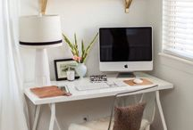In The Office / Ideas for organization & decoration in office spaces